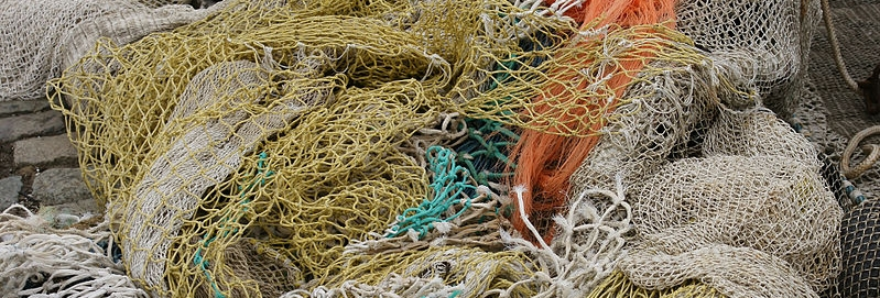 Fish net recycling: Money for old rope